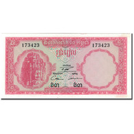Billet, Cambodge, 5 Riels, KM:10c, SPL - Cambodge