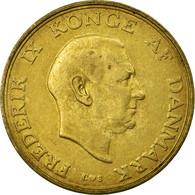 Monnaie, Danemark, Frederik IX, Krone, 1957, Copenhagen, TB+, Aluminum-Bronze - Danemark