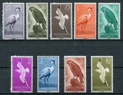 1959-SAHARA SP.-BIRDS- 9 VAL.- M.N.H. LUXE !! - Spanische Sahara