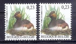 BUZIN  Papier + Kleur Variaties * Nr 3546 * Helder + Dof Fluor Papier * Postfris Xx * - 1985-.. Pájaros (Buzin)