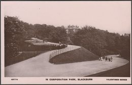 In Corporation Park, Blackburn, Lancashire, C.1910 - Valentine's XL RP Postcard - England