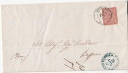 Annullo Monselice (PD) 1874 Con Testo Interno - 1900-44 Vittorio Emanuele III
