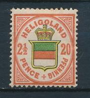 Helgoland Nr. 18 * (Michel 15,-- €) - Héligoland