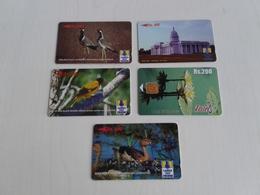 Sri Lanka -  Nice Set Of 5 Phonecards - Sri Lanka (Ceylon)