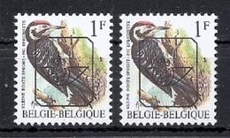 BUZIN  Papier + Kleur Variaties * Nr 816 * Helder + Dof Wit Papier* Postfris Xx * - 1985-.. Pájaros (Buzin)