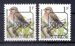 BUZIN  Papier + Kleur Variaties * Nr 817 P6a * Helder + Dof Wit Papier* Postfris Xx * - 1985-.. Pájaros (Buzin)