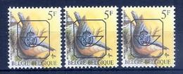 BUZIN  Papier + Kleur Variaties * Nr 826 * P6 + P5b + P7b * Postfris Xx * - 1985-.. Pájaros (Buzin)