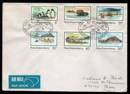 ROSS DEPENDENCY - NEW ZEALAND / 20-1-1982 LETTRE FDC PAR AVION POUR LA FRANCE (ref LE2910) - Dépendance De Ross (Nouvelle Zélande)