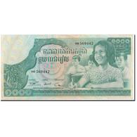 Billet, Cambodge, 1000 Riels, KM:17, SPL - Cambodge