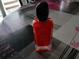 Bouteille Parfum Si Passione Giorgio Armani Vide - Flacons (vides)