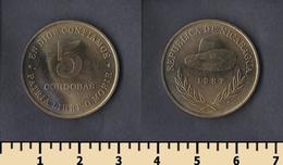 Nicaragua 5 Córdobas 1987 - Nicaragua