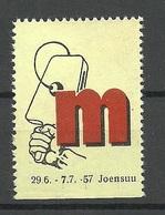 FINLAND FINNLAND 1957 Vignette Messe Fair Joensuu MNH - Vignetten (Erinnophilie)