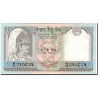 Billet, Népal, 10 Rupees, KM:31a, SPL - Népal