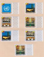 Bhutan Scott 130-133 +C21-23 1971 Admission To The United Nations, Used Set - Bhutan