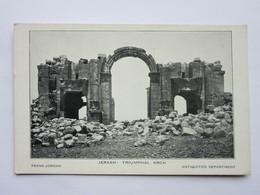 Jerash : Triumphal Arch (Gérasa) - Jordanie