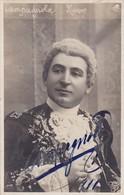 PHOTO  DEDICACEE DE CAMPAGNOLA  CHANTEUR LYRIQUE ,,, Voyage ,,, TRES BELLE SIGNATURE - Oper