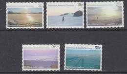 AAT 1987 Landscapes 5v ** Mnh (41527) - Australian Antarctic Territory (AAT)