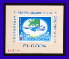 1977 - Rumania - Mi. 144 - S-d - MNH - RU-061 - 02 - Hojas Bloque