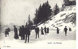 VAUD LEYSIN LE PATINAGE  C. P. N. No 9413 -  Circulé Le 10.01.1907 Vers Bruxelles - VD Vaud