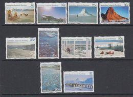AAT 1984 Definitives 10v ** Mnh (41528) - Australisch Antarctisch Territorium (AAT)