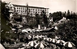Badgastein - Café Jäger Und Bellevue (705) * 25. 5. 1954 - Bad Gastein
