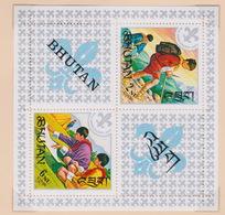 Bhutan SG 136MS 1967 Boy Scouts, Miniature Sheet, Mint Never Hinged - Bhutan