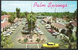 CALIFORNIA PALM SPRINGS The Plaza Sent 1962 From Cathedral City To Belgium - Palm Springs