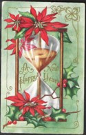 New Year Card Sent 1915 From Masonville To France - Autres