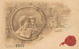 TURATE  -  DIS. T. CORBELLA  - 1903 - Como