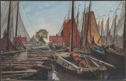 Vissersboten, Volendam, Noord-Holland, C.1900s - Nenke & Ostermaier Briefkaart - Volendam