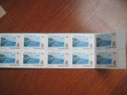 Norfolk 1990  Ships  Booklet Of 10 X 45 Cents MNH - Norfolk Island