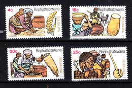Bophuthatswana  -  1979.  Preparazione Della Birra. Preparation Of Beer. Complete MNH Series - Birre