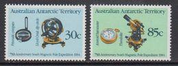AAT 1984 Magnetic Pole 2v ** Mnh (41529) - Australisch Antarctisch Territorium (AAT)