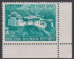 Bhutan SG 184 1968 Tongsa Dzong 50ch Green, Mint Never Hinged - Bhutan