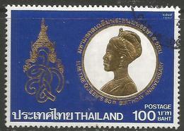 Thailand - 1992 Queen Sirikit 100b Used    Sc 1500 - Thailand