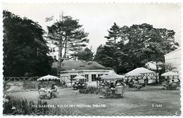 PITLOCHRY FESTIVAL THEATRE : TEA GARDENS - Perthshire