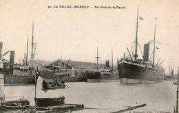 (83) CPA La Pallice Rochelle  Bassin  (bon Etat) - France
