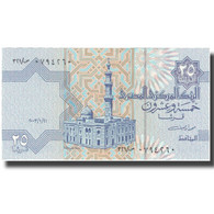 Billet, Égypte, 25 Piastres, Undated (1985-2007), KM:57e, SPL+ - Egypte