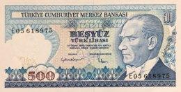 Turkey 500 Lira, P-195 (1983) - UNC - Turquie
