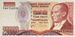 Turkey 20.000 Lira, P-202 (1988) - UNC - Turquie