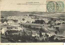 St CHELY D'APCHER  Vue Generale Prise Du Truc De La Vignole RV - Saint Chely D'Apcher