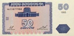 Armenia 50 Dram, P-35 (1993) - UNC - Arménie