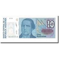 Billet, Argentine, 10 Australes, KM:325b, NEUF - Argentine