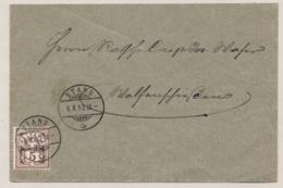 Schweiz - 1892 - 5c Kreuz On Cover From Stans To Wolfenschiessen - 1882-1906 Wapenschilden, Staande Helvetia & UPU