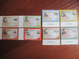 Norfolk Island 1994  Ships Pacific Explorers Two Sets Of 4 MNH - Norfolk Island