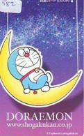 DORAEMON * Carte Prépayée Japon * MANGA * Chat Robot (582) Cinéma Animé  CAT Japan PHONECARD * MOVIE FILM * - BD