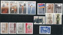 ARMÉNIE - DIVERS ENTRE N° 179 & 239 + PA 1 - TOUS ** - TB - Arménie