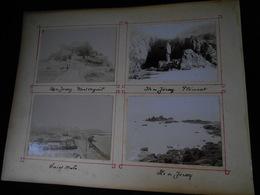 Lot De 8 Photos Originales En 1896 Ile De Jersey (7) Mont Orgueil Plémont Saint Malo KX - Anciennes (Av. 1900)