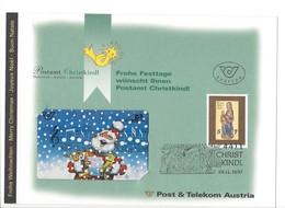 21211 - Christkindl 1997 Postamt Christkindl Austria Père Noël Chantant Stille Nacht ... - Noel