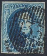 Médaillon - N°7 Obl D33 Marbais  / Distribution. - 1851-1857 Médaillons (6/8)